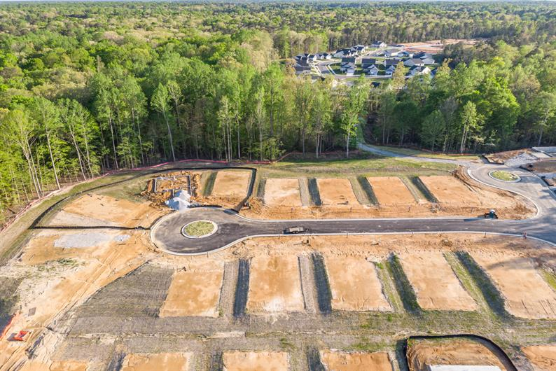 New Homesites Won't Last Long