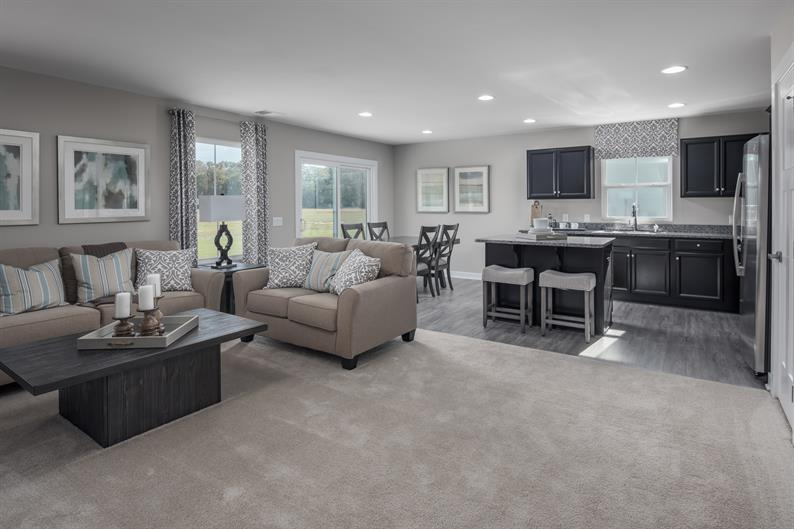GREAT SPACES PERSONALIZED WITH THE COLORS YOU LOVE