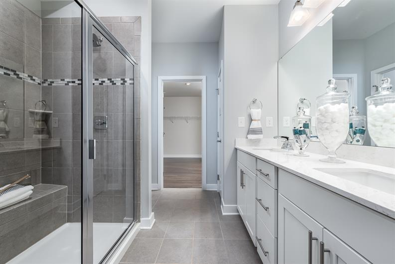 Retreat to Your Ensuite Owner's Bath