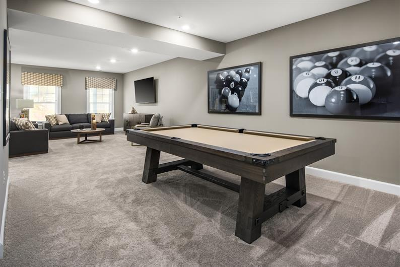FINISH THE BASEMENT FOR EXTRA SPACE