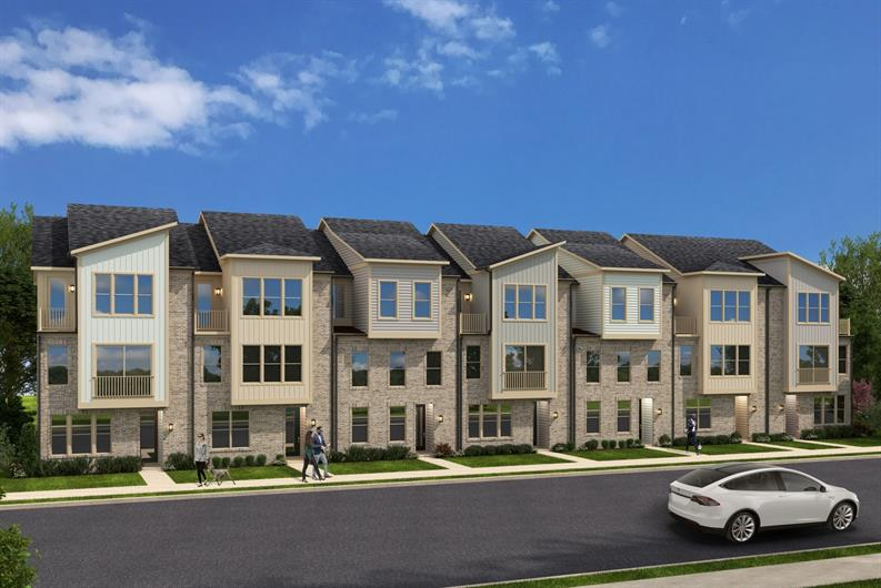 Sophisticated Townhomes in Sought-After Laurel