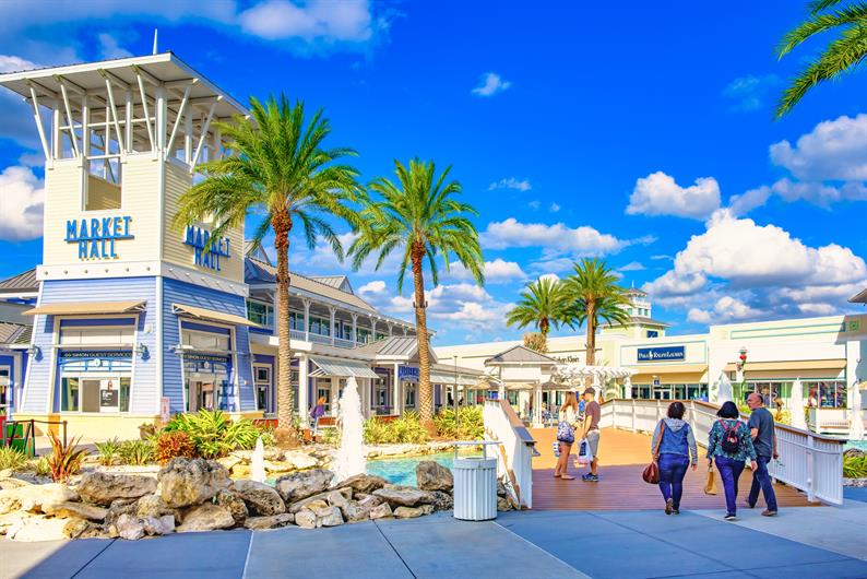 Tampa Premium Outlet Mall is Less than 30 Minutes Away