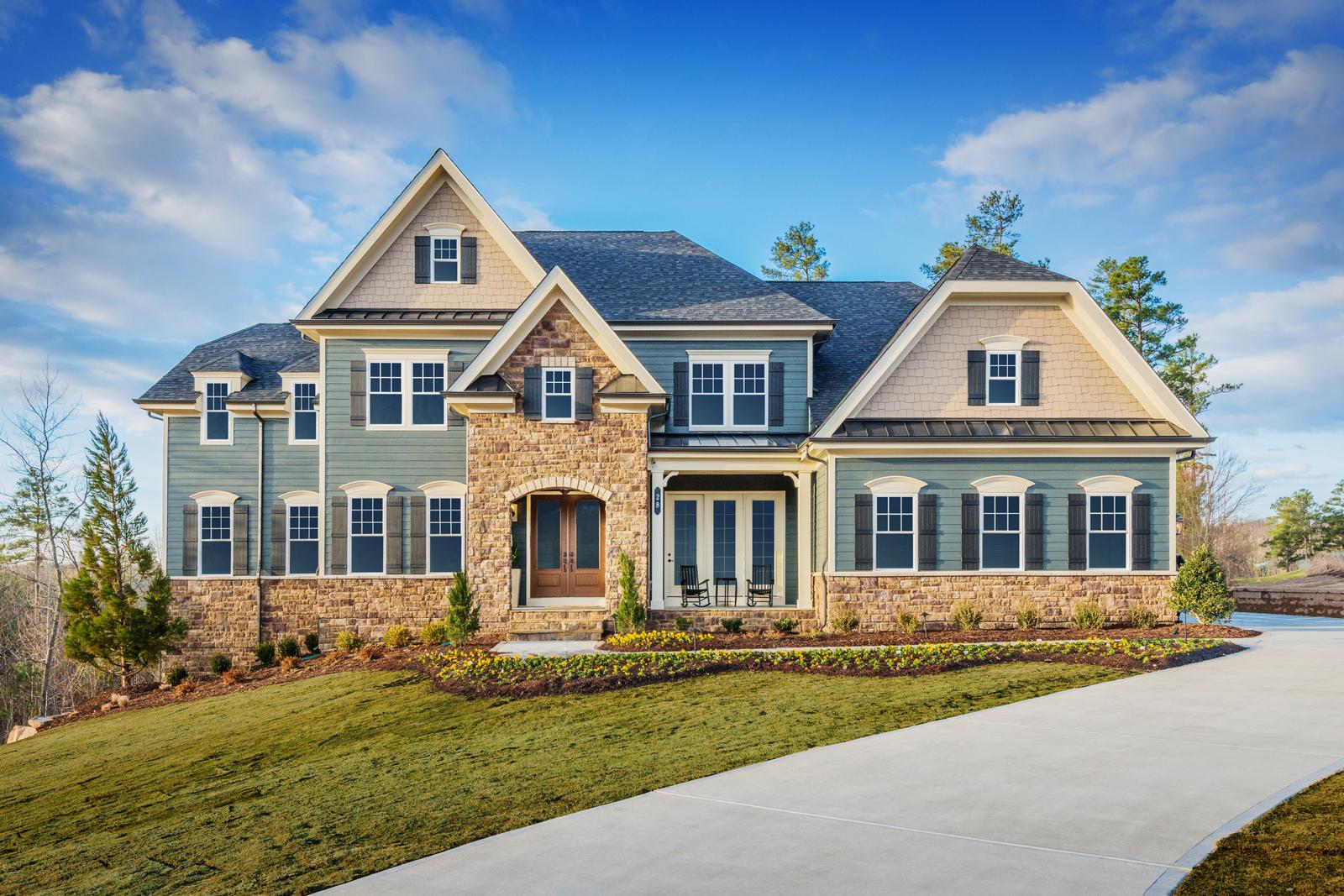 New regent 39 s park ii home model for sale heartland homes for Heartland homes pittsburgh floor plans