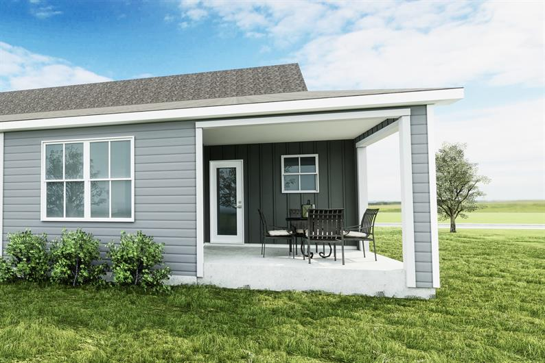 Optional covered porches