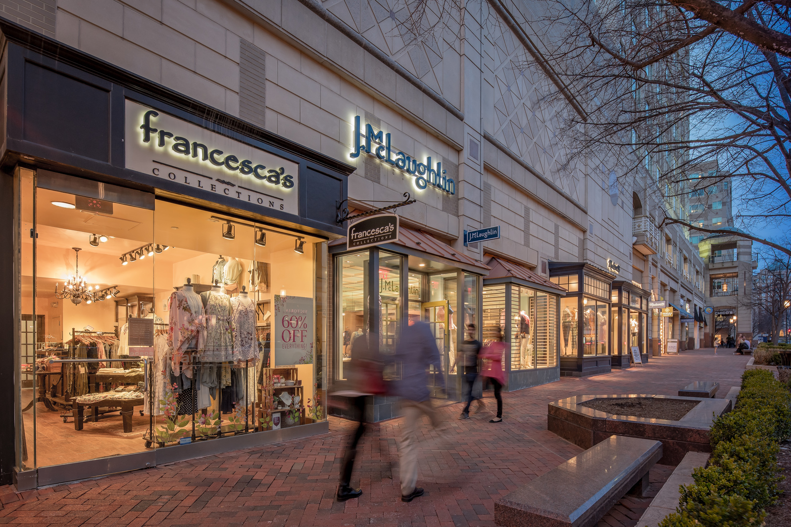 There are nearly a hundred boutique shopping options in the Herndon/Reston neighborhood near Waterview.