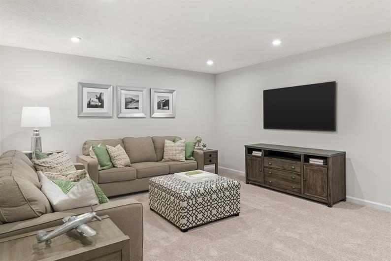 BASEMENTS INCLUDED WITH THE OPTION TO FINISH