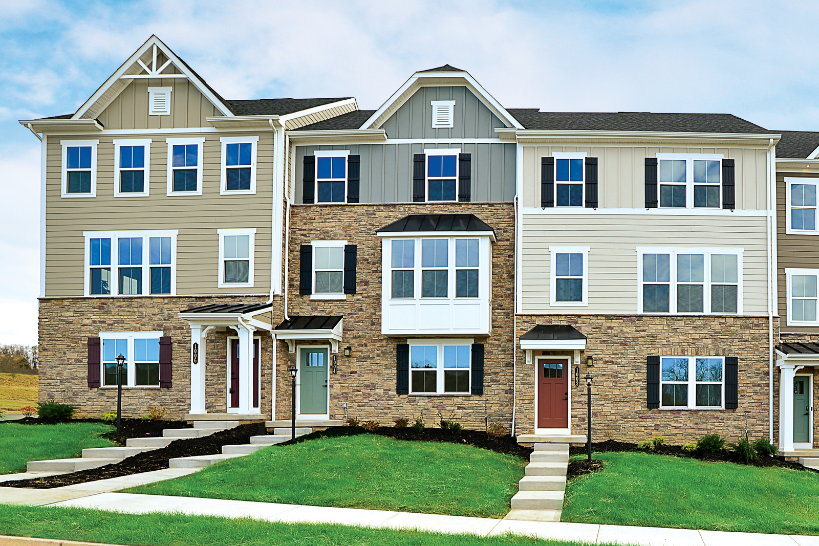 New Homes for sale at Concord Village in Avon, OH within the