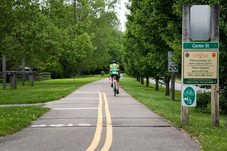 Loveland Bike Trail nearby