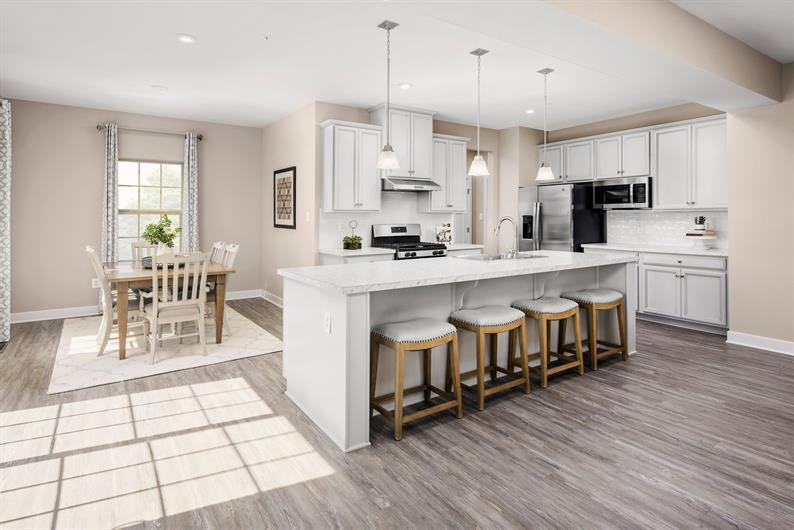 DYNAMIC OPEN KITCHENS WITH FLOWING FLOORPLANS IN YOUR NEW HOME