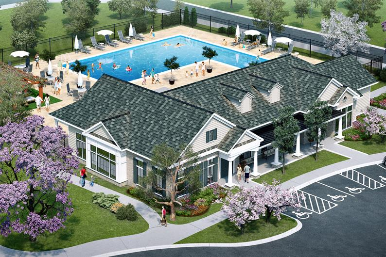 ENJOY THE SUMMER AT THE BRAND NEW POOL AND CLUBHOUSE