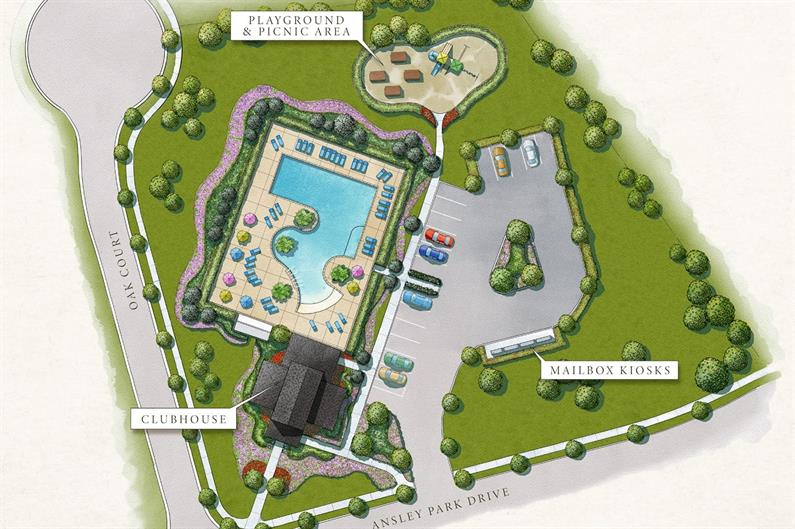 Future Amenities to Include a Pool, Clubhouse, and More!