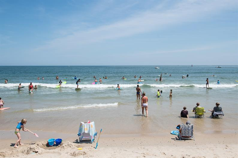 Rehoboth and Lewes are just 12 miles from your new home.