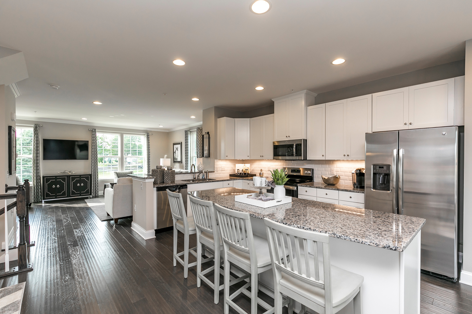 New homes for sale at stargazer village townhomes in romansville pa within the downingtown for Ryan homes design center maryland