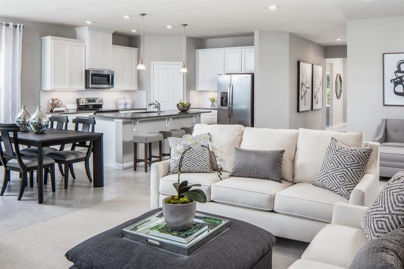 Turn the Family Room into a Space for Entertaining