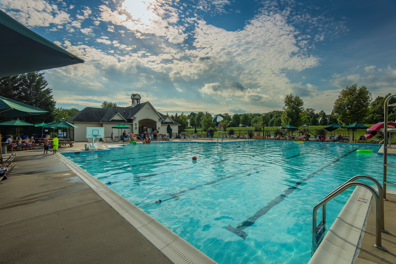 Enjoy well-established amenities in Manor Oaks. Make a splash at the community pool or simply lounge with a book.