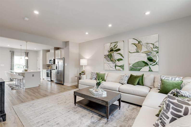 Open Concept Floorplans SO YOU DON'T MISS A BEAT
