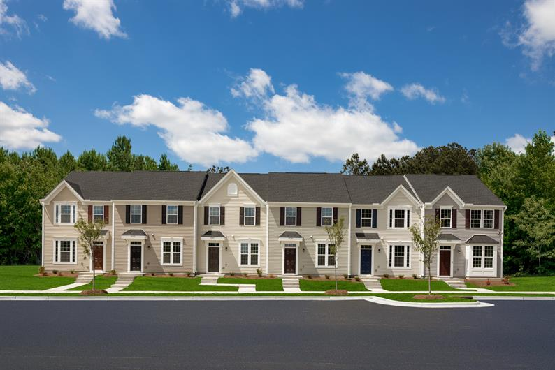 2 & 3-story townhomes in a prime location close to Durham & Raleigh