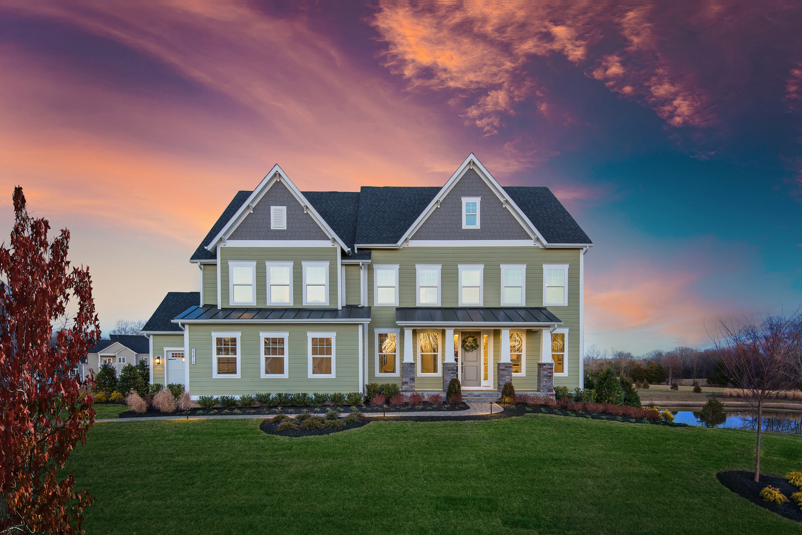 New executive single-family homes in a park-like setting coming soon to West Chester click here to join the priority list today!