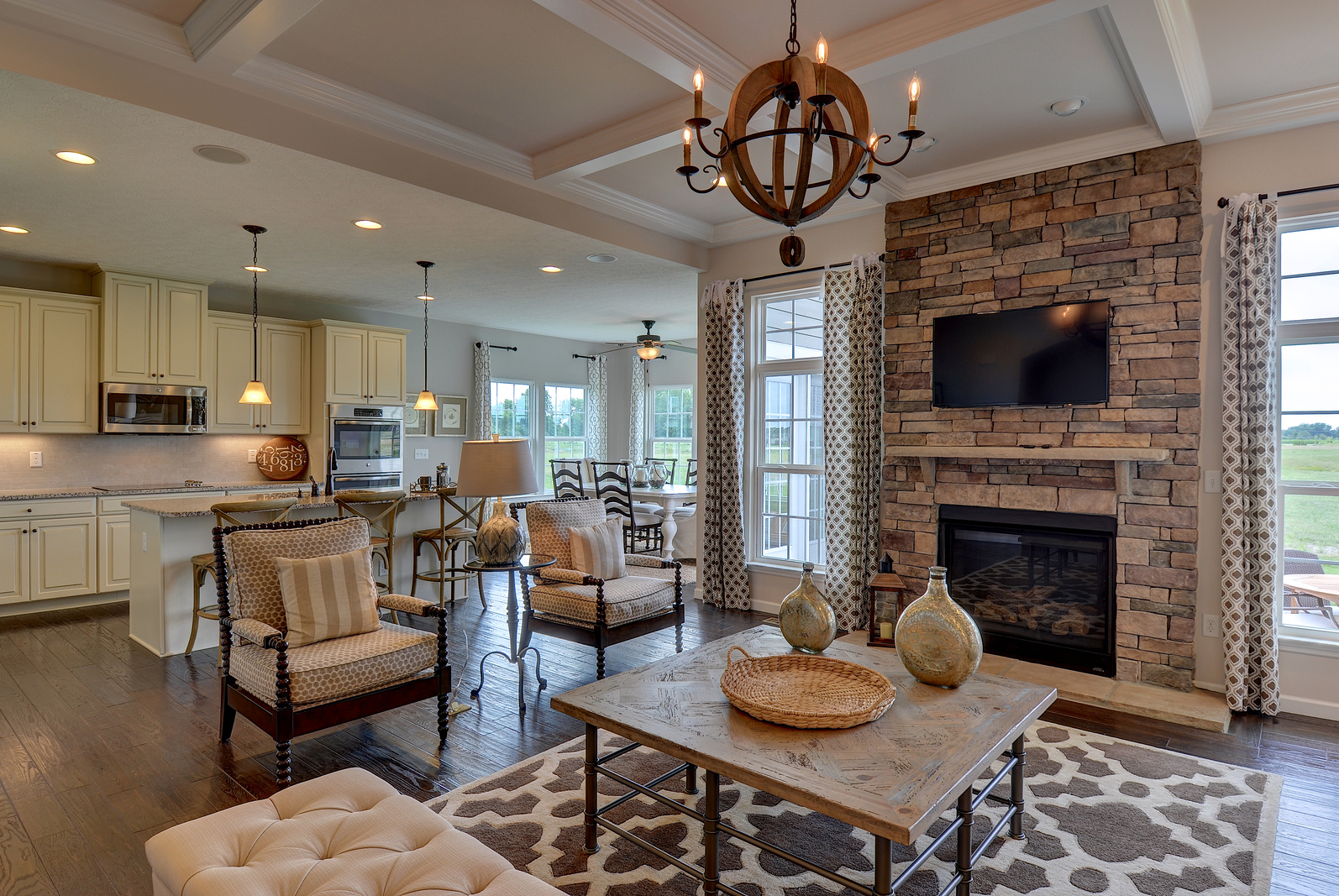 Ranch Floor Plans Open Concept New Homes For Sale At Peachmont Farms In Evans City Pa