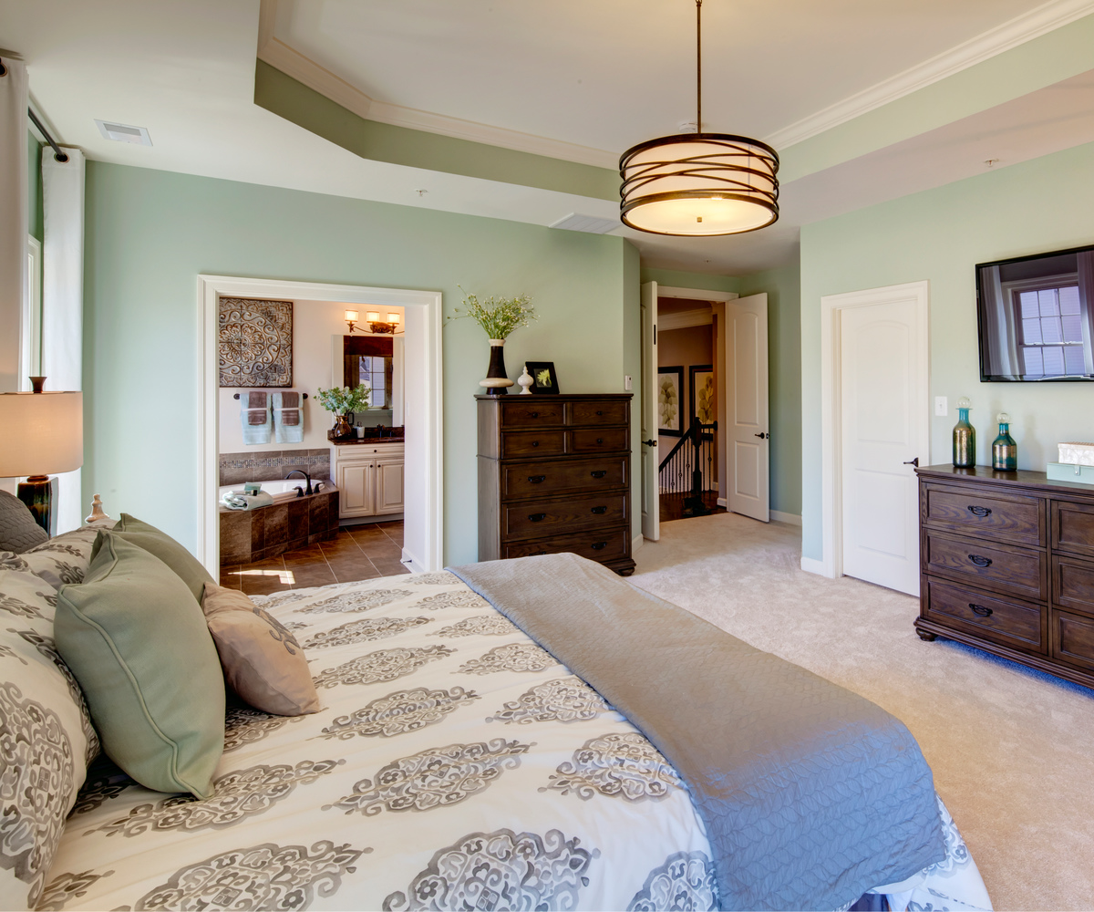 Empress II Owner's Bedroom with Double Closets and Tray Ceiling