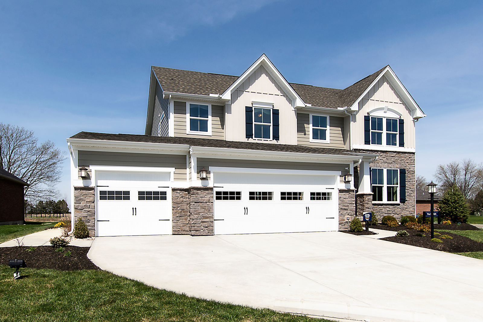 The Dunkirk Model At Stonebridge Meadows Featuring A 3 Car Garage Finally