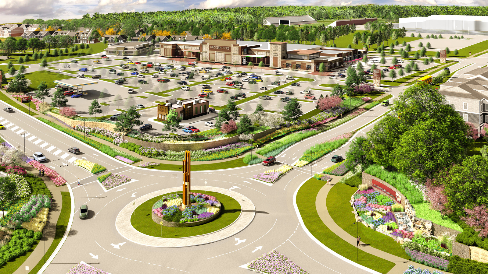 Get the best of suburban living with city-style amenities - all arriving to Lake Linganore Oakdale.