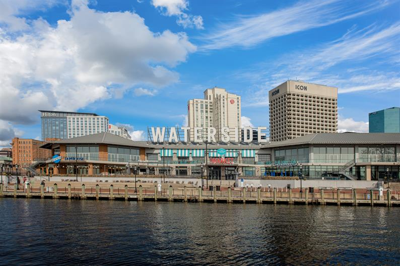 Enjoy the Waterside District