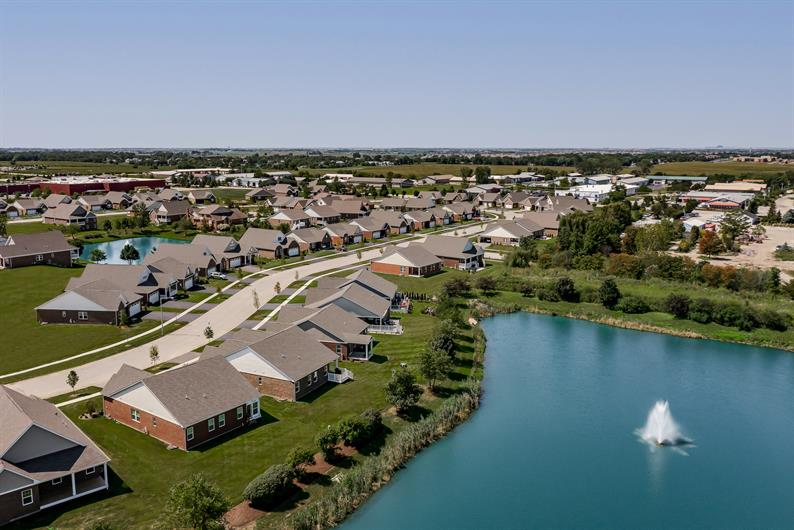 Beautiful homesites available with pond views