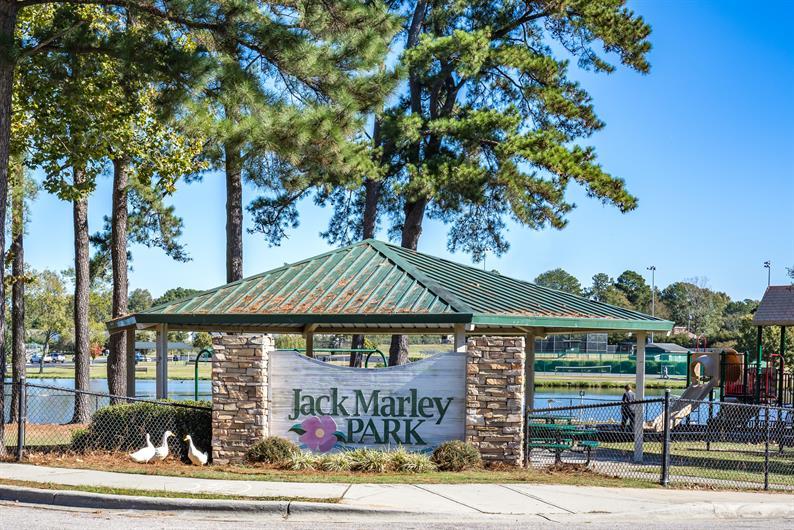 Close to Jack Marley Park