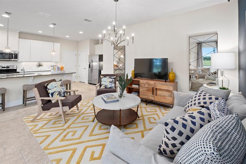 Open, Spacious Floorplans