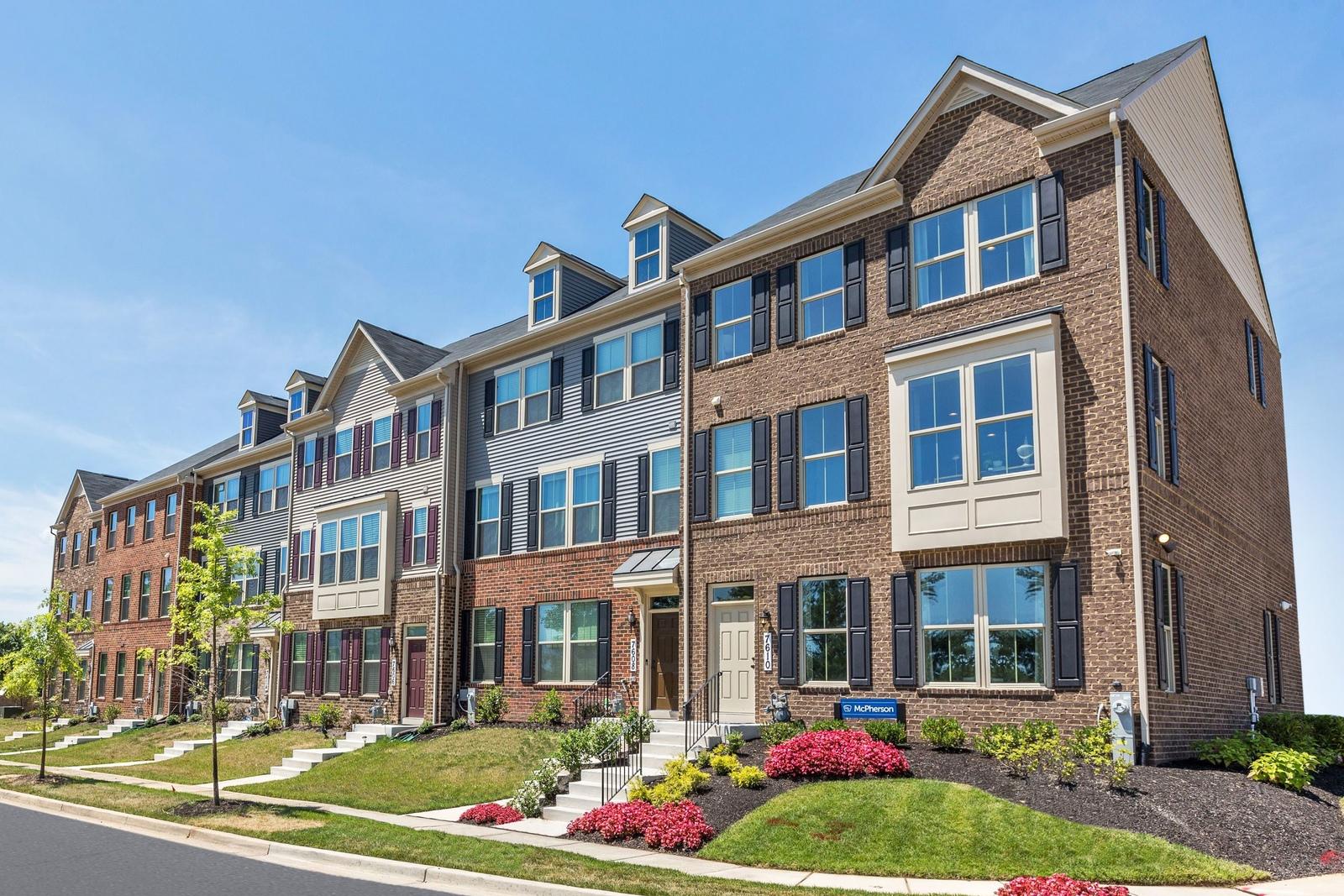 New Homes For Sale At Blackburn Townhomes In Manassas Va Within The