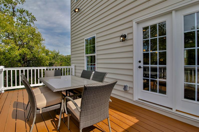 DECK AND LAWN MAINTENANCE INCLUDED