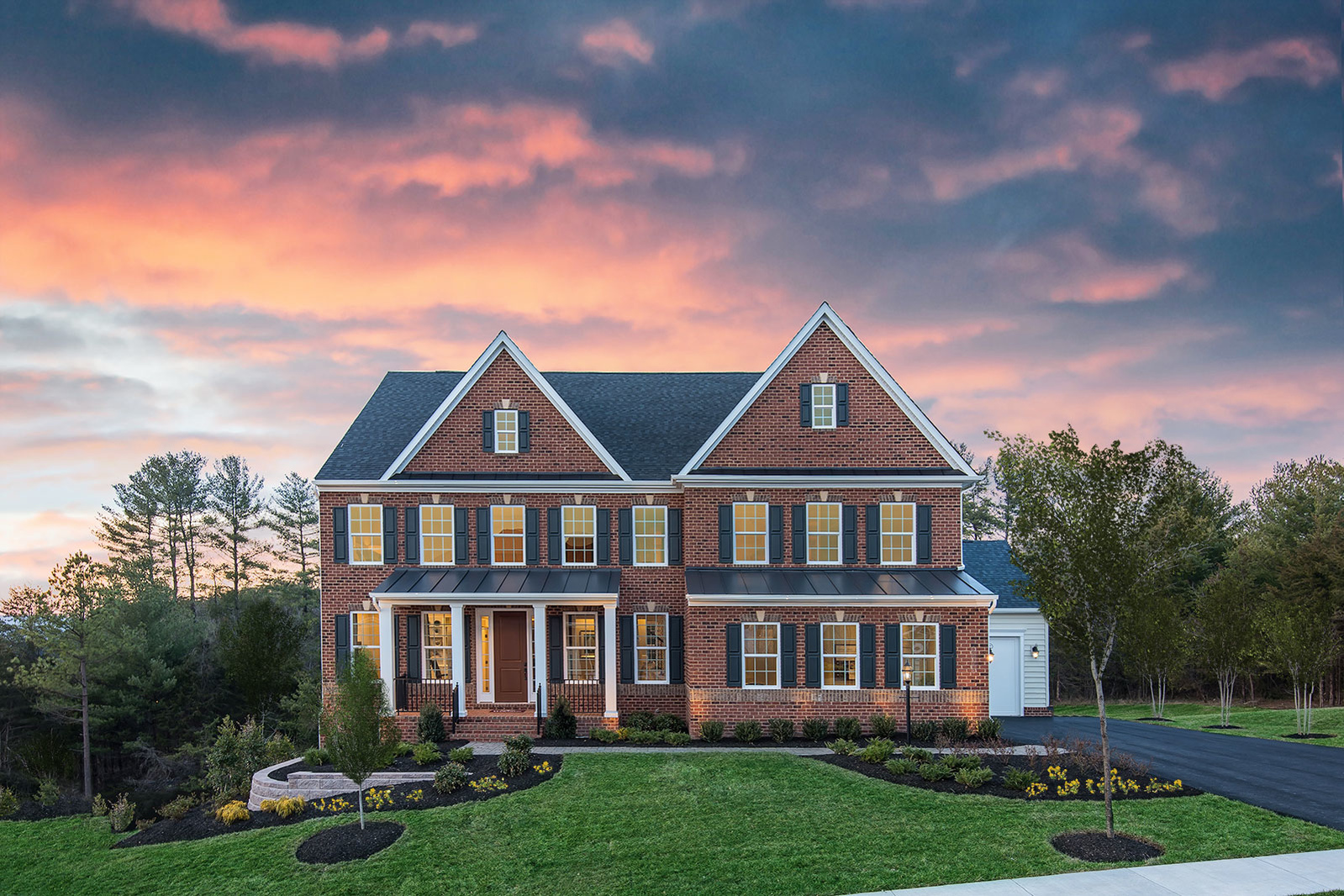 New luxury homes for sale at reserve at marbury in for Modern homes for sale in virginia