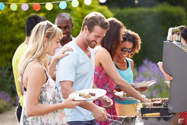 Enjoy Backyard BBQs with Scenic Views and Wooded Homesites