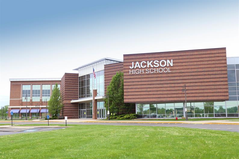 LOCATED IN THE DESIRABLE JACKSON LOCAL SCHOOL DISTRICT