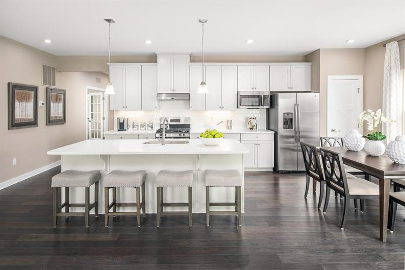 Your Spacious Kitchen Has Plenty of Space for Entertaining