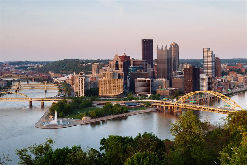 just 30 minutes to Downtown Pittsburgh
