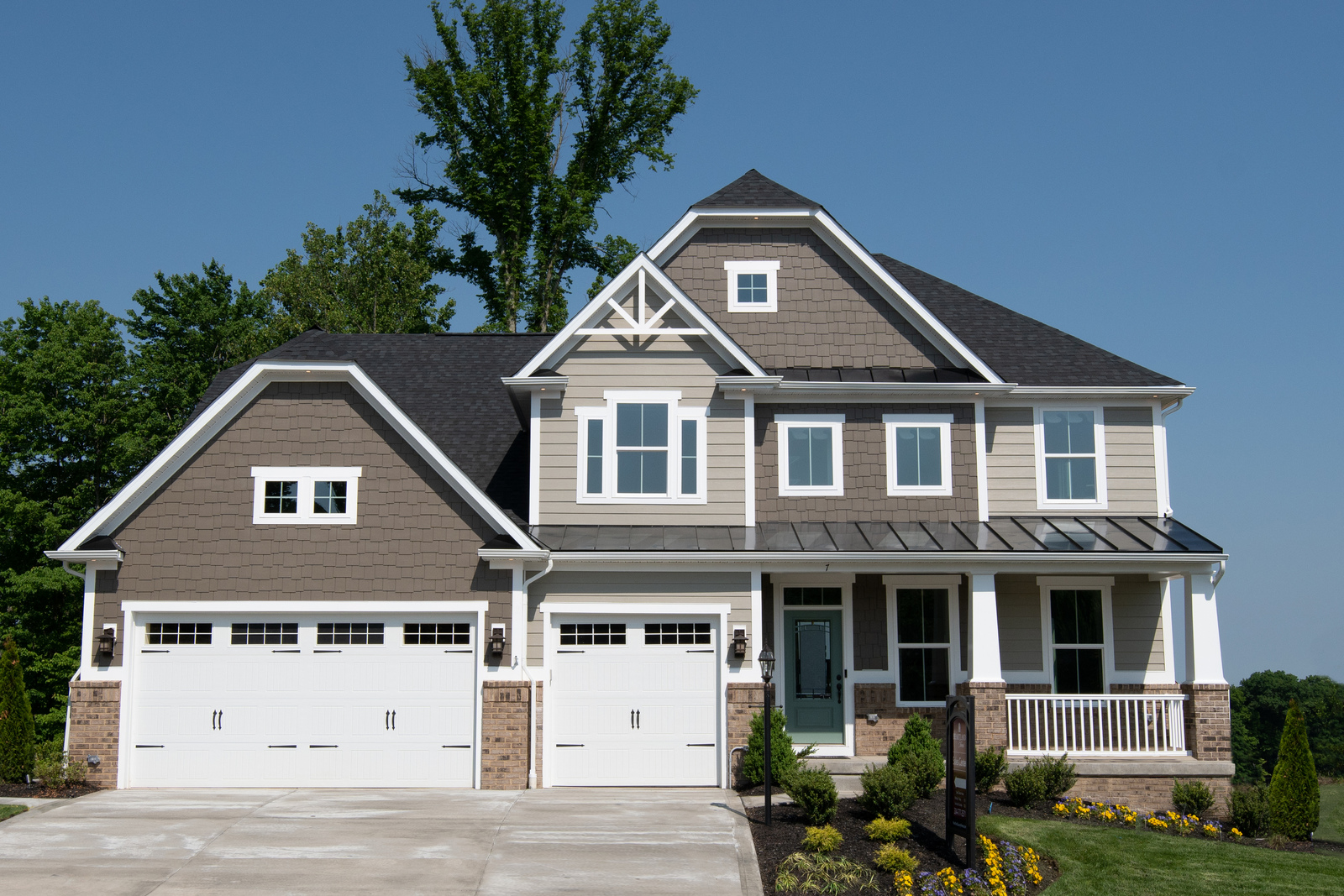 Many of our floorplans include, or are available with a 3-car garage. Finally, a place for everything! Come learn more about the home designs today.