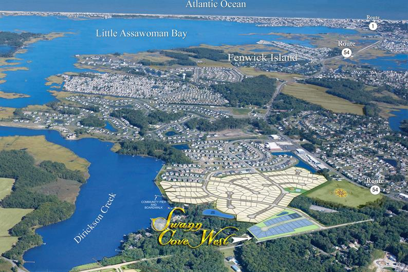 Final 20 homesites at Swann Cove West
