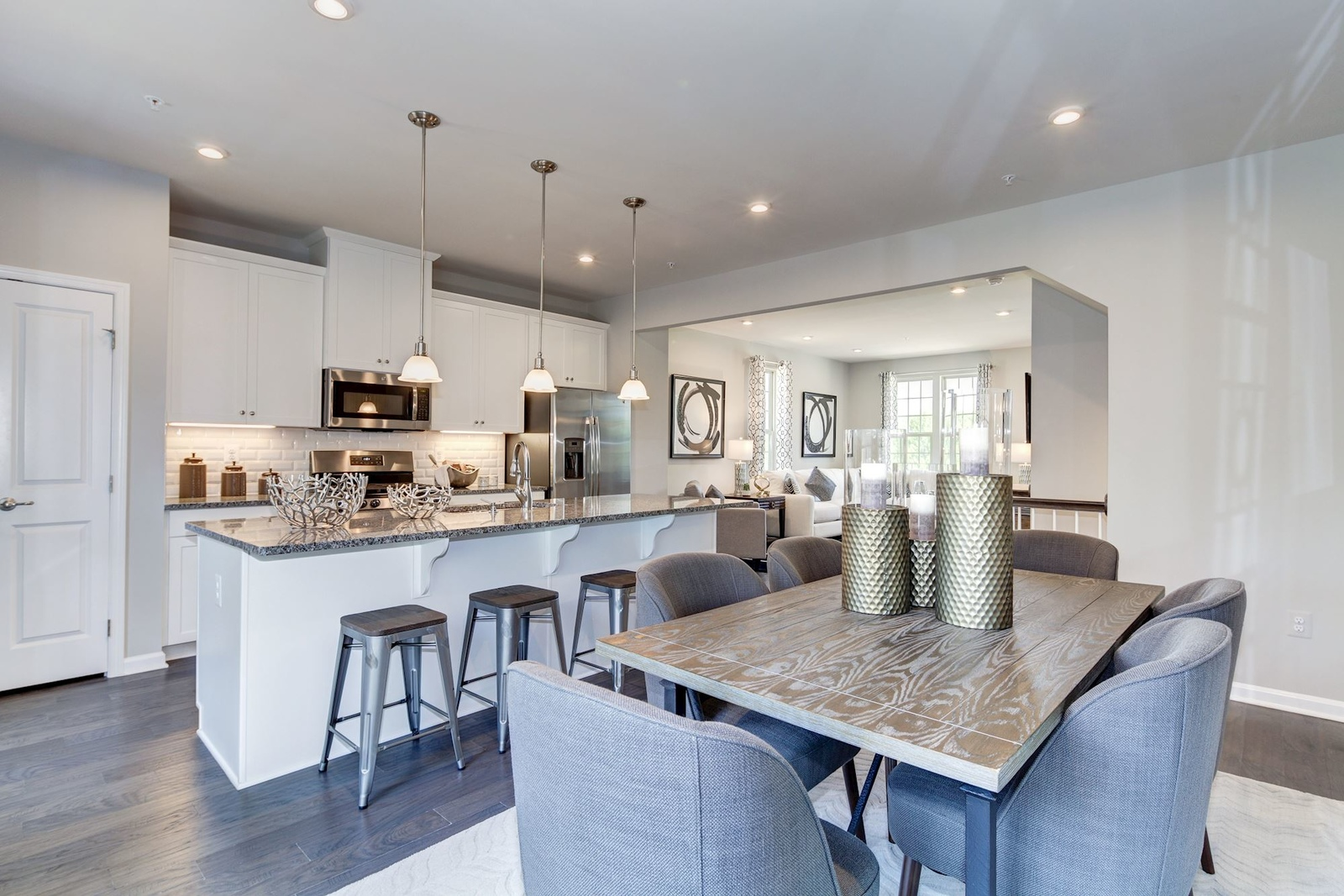 New Homes for sale at Oakdale Village Townhomes in ... on blueprints for houses with open floor plans, mansion plans, i house architecture, i house home, home design floor plans, home builders floor plans, roof plans, split level home floor plans,