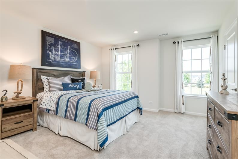 3 bedrooms offers everyone their own space