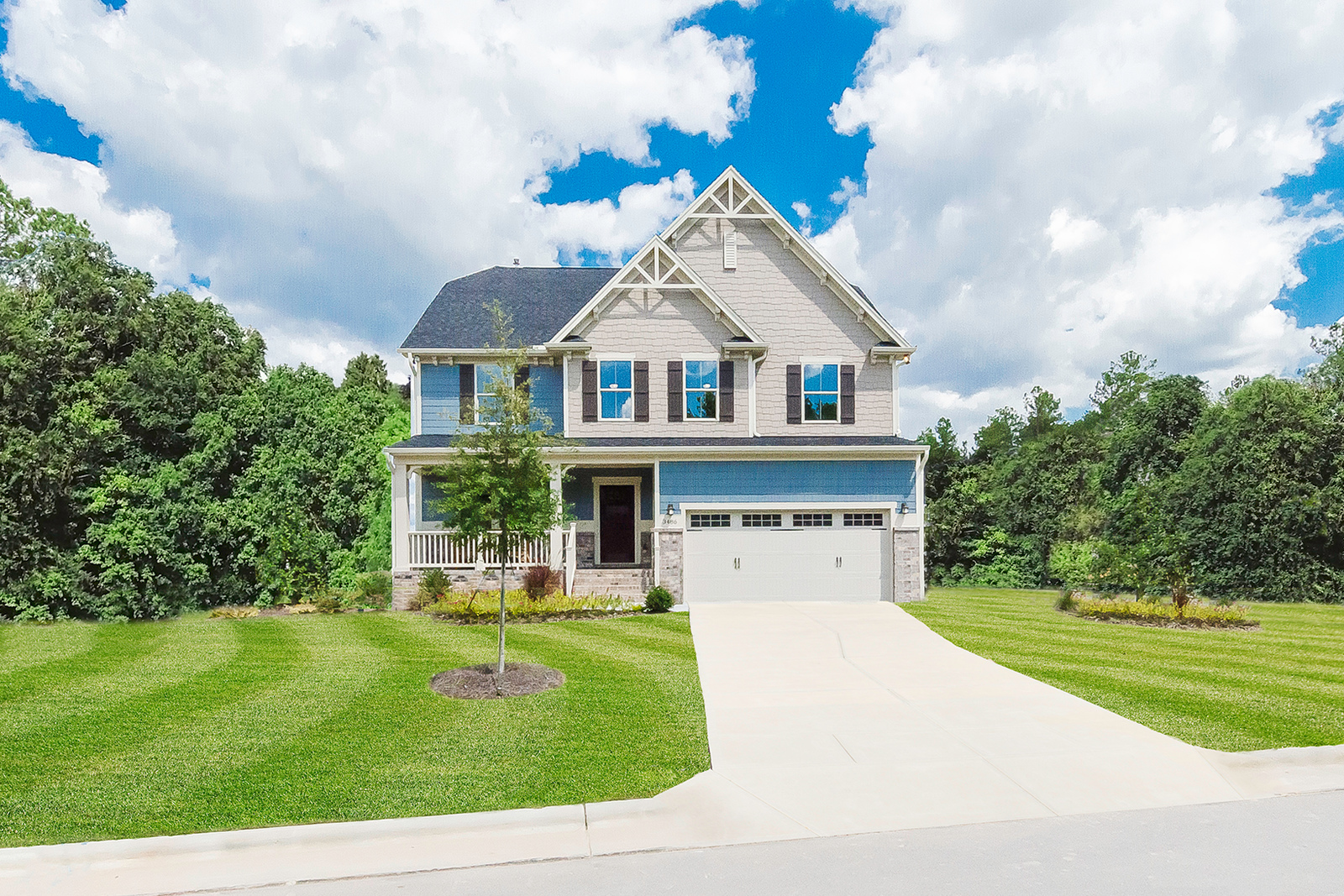 New Homes For Sale At Holcomb Woods In Harrisburg Nc Within The