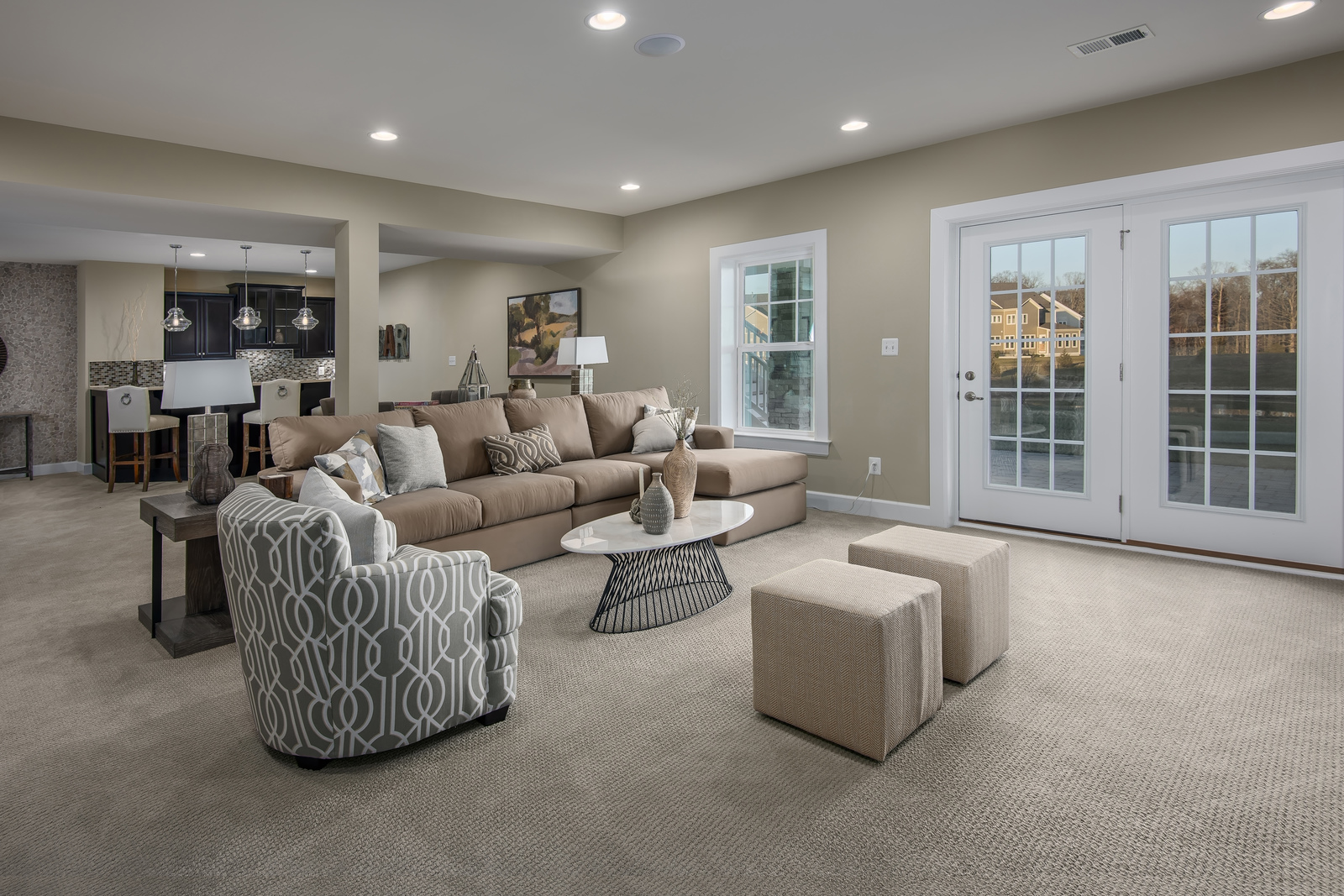 Now even more space to entertain with every home including a finished basement.
