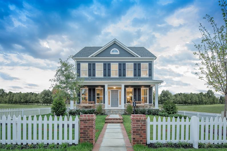 Southern style living with your own front porch