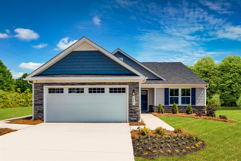 Ranch Homes with Lawn Care Included On The East Side of Charlotte. $220's-$260's