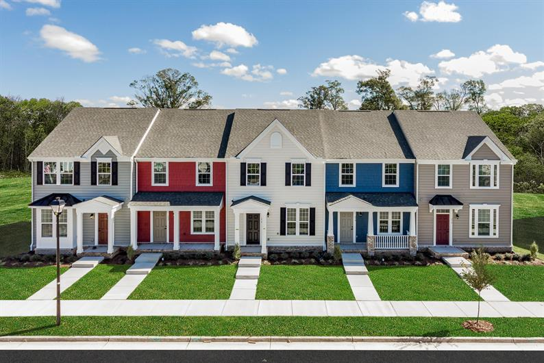 TOWNHOMES FROM THE UPPER $100S