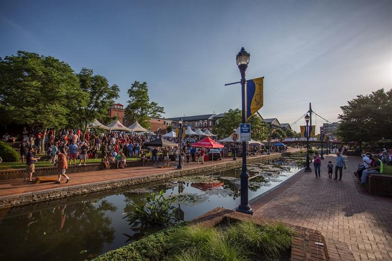 Enjoy all the activities at Carroll Creek