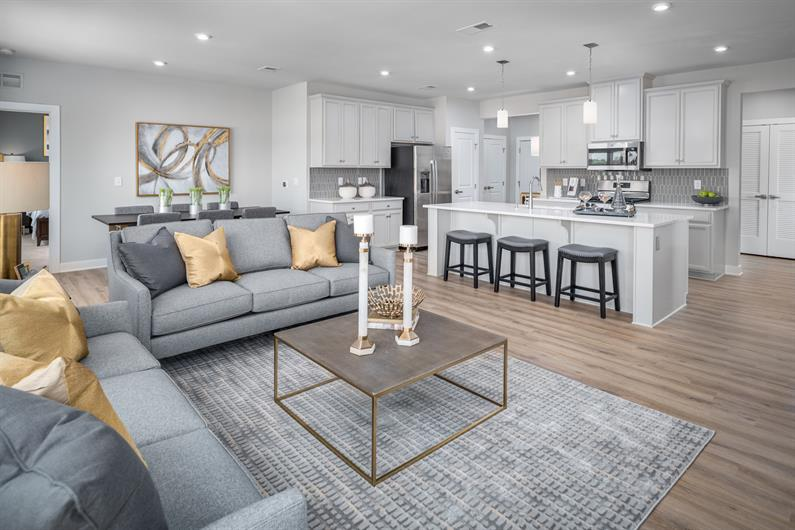AIRY FLOORPLANS ARE PERFECT FOR ENTERTAINING