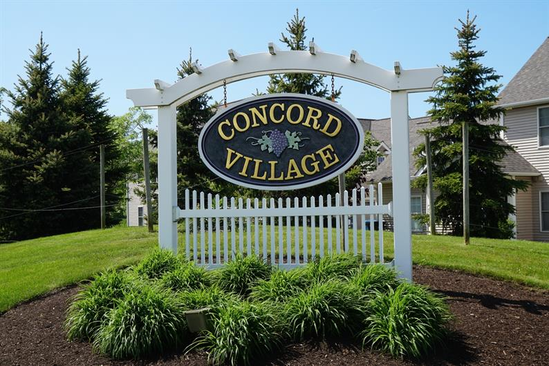 YOUR NEW WELCOME HOME IS CONCORD VILLAGE IN THE HEART OF AVON