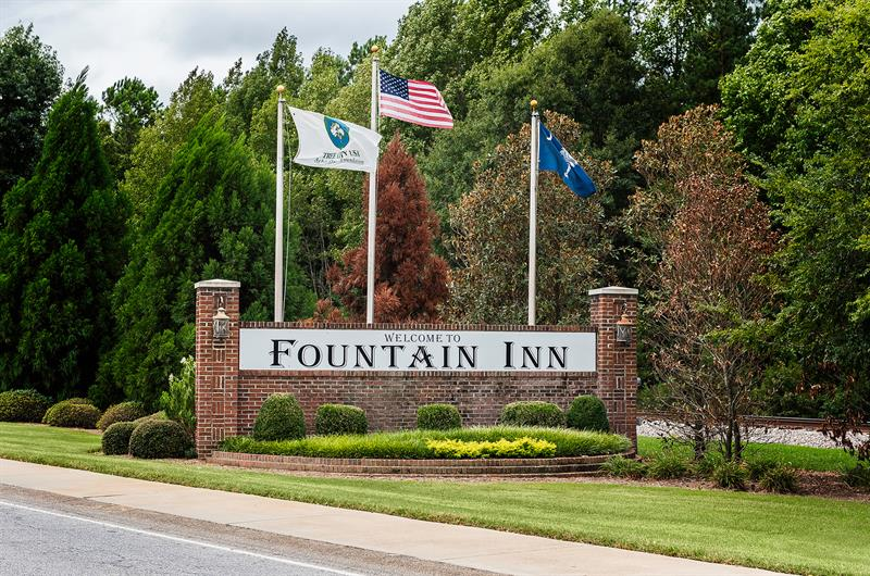 Fountain Inn has all of the small town charm